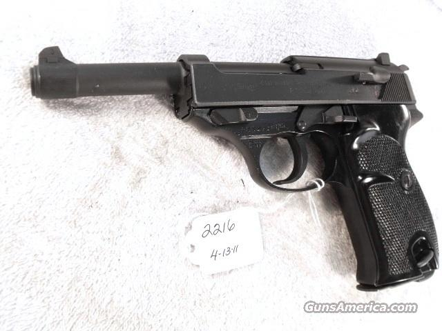 Walther 9mm P-38 Parkerized Lightweight VG-Exc 1963 Federal German Police Bundespolizei P1 P38  Guns > Pistols > Walther Pistols > Post WWII > Large Frame Autos