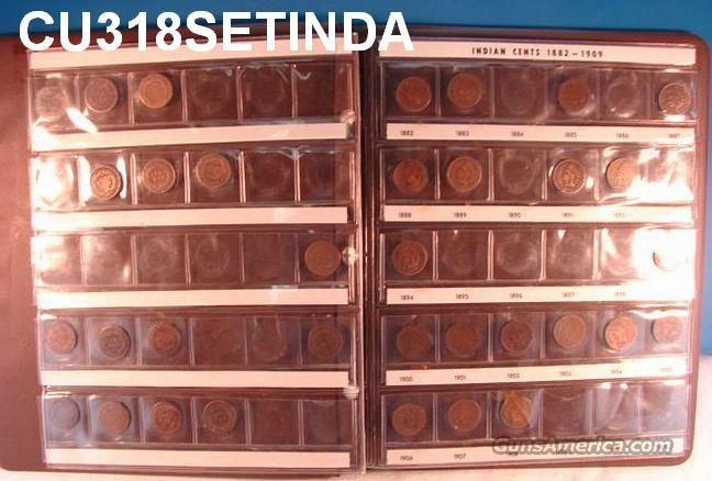 Coins Indian Head Penny Collection 1858-1908 33 Different  Non-Guns > Coins