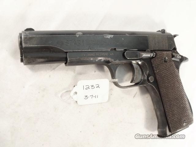 Star Spain 9mm Model B Colt Government Size Steel Frame 1968 Israeli Army Police VG 1 Magazine  Guns > Pistols > Star Pistols