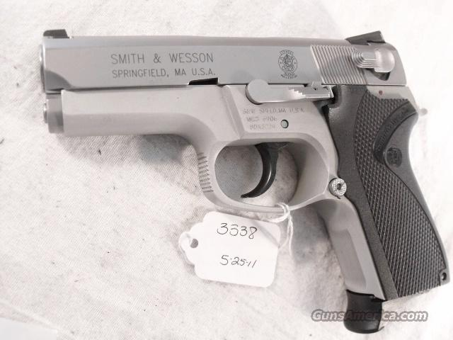 S&W 9mm model 6906 Compact Lightweight Stainless 13 Shot 1 Magazine VG 1999 California Department of Corrections S&W 469 669 Descendant  Guns > Pistols > Smith & Wesson Pistols - Autos > Polymer Frame