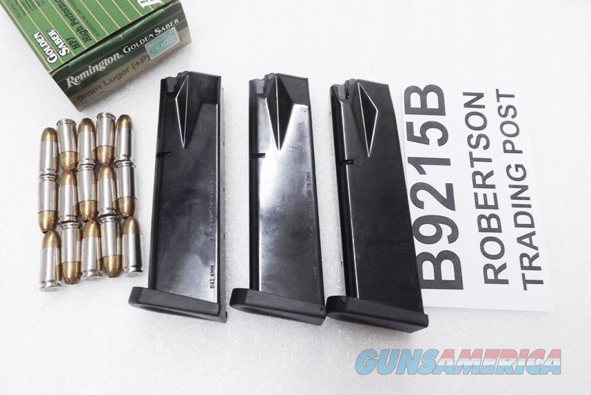 3 Beretta 92 Magazines ACT-Mag 9mm 15 shot Bright Blue Italian Made 3x$18 Act Mag B9215B  Non-Guns > Magazines & Clips > Pistol Magazines > Other