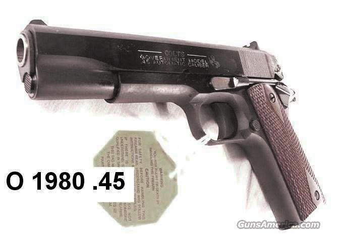 Colt .45 ACP Government 1991 Blue 5 in Rosewood NIB  Guns > Pistols > Colt Automatic Pistols (1911 & Var)