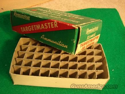 Ammo: Vintage Box & Brass Remington Targetmaster 5 period brass VG-Exc  Non-Guns > Collectible Cartridges