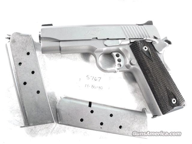 Kimber .45 ACP Pro Carry HD II Night Sights Stainless VG w/3 Factory Mags 45 Automatic 1911 Officer Compact Officer's ACP type  Guns > Pistols > Kimber of America Pistols