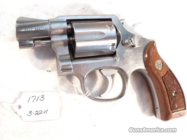 Smith & Wesson .38 Special model 64-2 Stainless Snub 2 inch Round Butt California Dept of Corrections VG 1988  Guns > Pistols > Smith & Wesson Revolvers > Full Frame Revolver