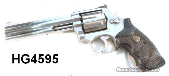 S&W .357 Magnum 686-1 SS 6 in VG 1987 Alameda CA Sheriff  Guns > Pistols > Smith & Wesson Revolvers > Full Frame Revolver
