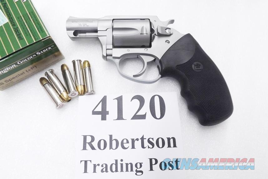 Charter Arms .38 Special Undercover Stainless 2 inch 5 Shot Lightweight Snub 73820 VG    Guns > Pistols > Charter Arms Revolvers