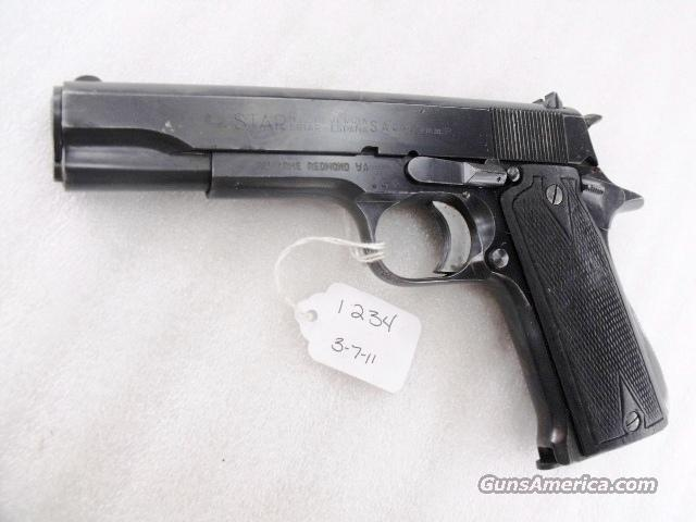 Star Spain 9mm Model B Colt Government Size Steel Frame 1955 Israeli Army Police VG 1 Magazine  Guns > Pistols > Star Pistols