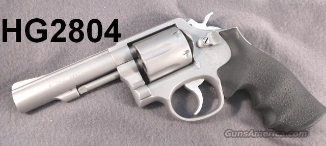 S&W .38 Spl 64-5 Exc Satin Stainless Custom 4 in SS HB  Guns > Pistols > Smith & Wesson Revolvers > Full Frame Revolver