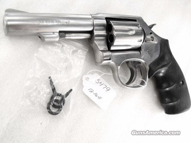 S&W .38 Spl 64-8 Internal Lock Stainless 2 piece Heavy Barrel 4 inch VG 2004 Ohio Dept of Corrections Marked Smith & Wesson 38 Special +P Model 64 CA MA OK   Guns > Pistols > Smith & Wesson Revolvers > Full Frame Revolver