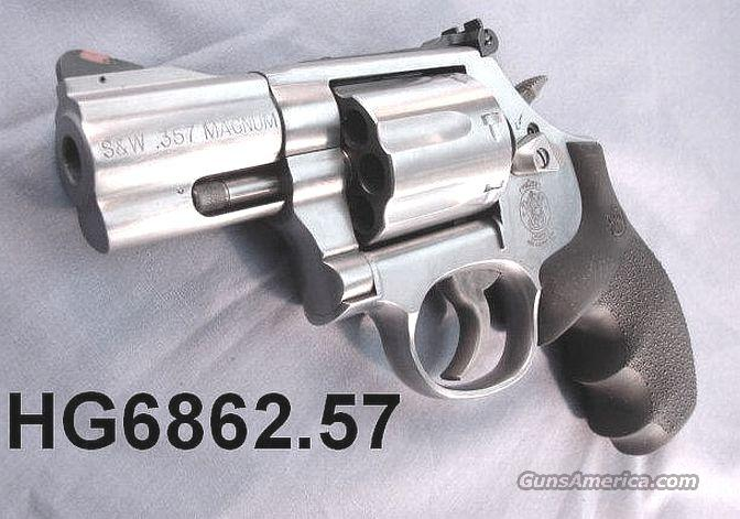 S&W .357 Model 686 Stainless 2 1/2 inch 7 Shot NIB 686-6 Smith & Wesson 357 Magnum 2.5 inch  Guns > Pistols > Smith & Wesson Revolvers > Full Frame Revolver