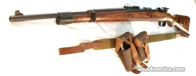 WWII German 98 Mauser 8mm Russian Capture 1937 Erma VG Arsenal Refin.  Guns > Rifles > Mauser Rifles > German
