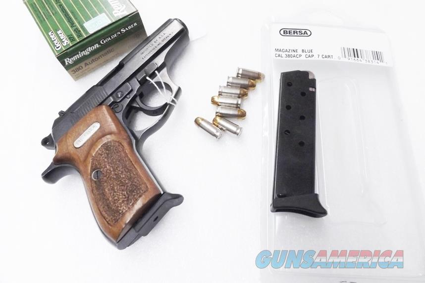 Bersa Model 383A only .380 ACP Factory 7 Shot Magazines NIB 380 Automatic No 383 No Thunder series   Non-Guns > Magazines & Clips > Pistol Magazines > Other