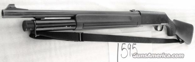 Beretta 12 gauge Model 1201FP Tactical Auto 3 inch 20 in Cyl Rifle Sights 7 Shot VG Detroit Police Department Benelli M1 Competitor   Guns > Shotguns > Beretta Shotguns > Autoloaders > Tactical