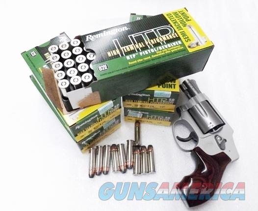 Ammo: .38 Special +P 250 Round Lot of 5 Boxes Remington 125 grain JHP Semi Jacketed Hollow Point High Terminal Performance 38 Spl Brass Case US Made Ammunition Cartridges 5x$25.80 = $129 plus $15 ship RTP38S21  Non-Guns > Ammunition