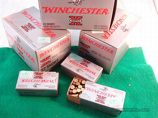 Ammo: .22 Short Winchester HV Copper 500 Brick  Non-Guns > Ammunition