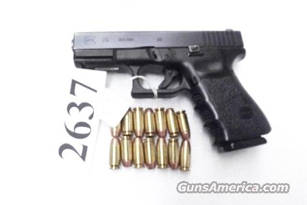 Glock .40 S&W Model 23 Night Sights 3rd Gen 2005 LE Production Norwich CT PD Gun 14 Shot 1 Magazine VG Third Generation  Guns > Pistols > Glock Pistols > 23
