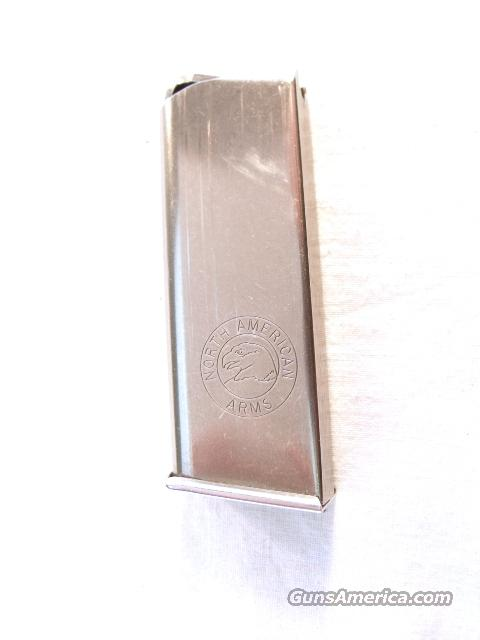 Magazine North American .32 ACP Exc 6 Round Stainless  Non-Guns > Magazines & Clips > Pistol Magazines > Other