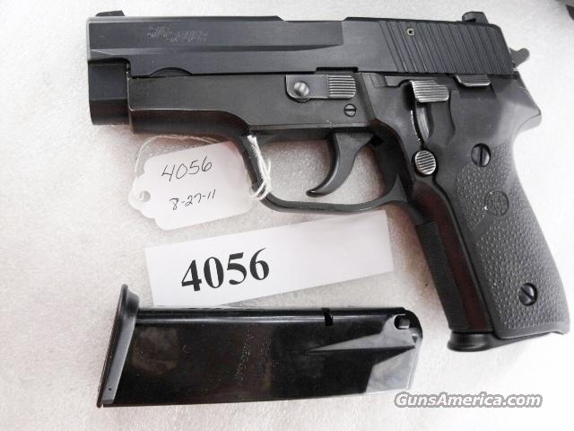 Sig 9mm P228 Black Ice Teflon Finish Swiss Police 16 Shot 2 Magazines 1996 All German Sig Sauer P-228 CA OK  Guns > Pistols > Sig - Sauer/Sigarms Pistols > P228