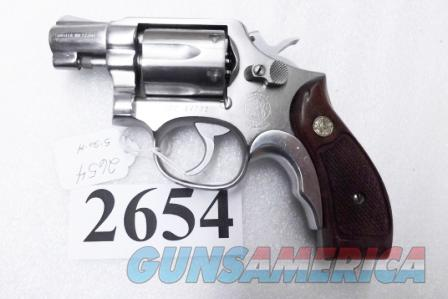 S&W .38 Special model 64-2 Stainless Snub 2 inch Round Butt California Dept of Corrections VG 1982 Smith & Wesson .38 Military & Police Stainless  Guns > Pistols > Smith & Wesson Revolvers > Full Frame Revolver