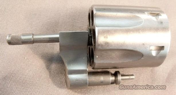 Parts: Cylinder Assembly Ruger .357 SS DA VG-Exc with Yoke  Non-Guns > Gun Parts > Misc > Pistols