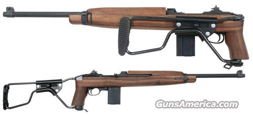 U.S. .30 M-1 Paratrooper M1A1 Carbine Auto Ordnance Kahr Exact Replica Parkerized Walnut 15 Round M1 30 Caliber   Guns > Rifles > Military Misc. Rifles US > M1 Carbine