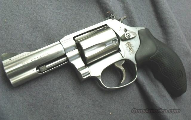 S&W .357 Magnum  60-15 Stainless 3 inch Adjustable NIB Factory Rebate good until 12/31/10!   Guns > Pistols > Smith & Wesson Revolvers > Full Frame Revolver