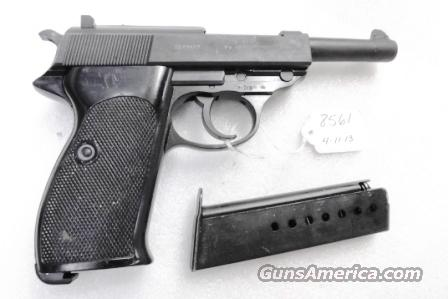 Walther 9mm P38 variant P1 Lightweight Military 1977 P-1 German Federal Border Guard BGS P-38 Descendant CA OK with 1 Factory 8 Shot Magazine  Guns > Pistols > Walther Pistols > Post WWII > P38