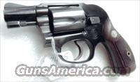 Smith & Wesson .38 Special Airweight Bodyguard Pre Model 38 1956 Excellent Flat Latch Diamond Grips 38 Spl 2 inch Snub Black on 3, Possibly Unfired C&R CA OK  Smith & Wesson Revolvers > Pocket Pistols
