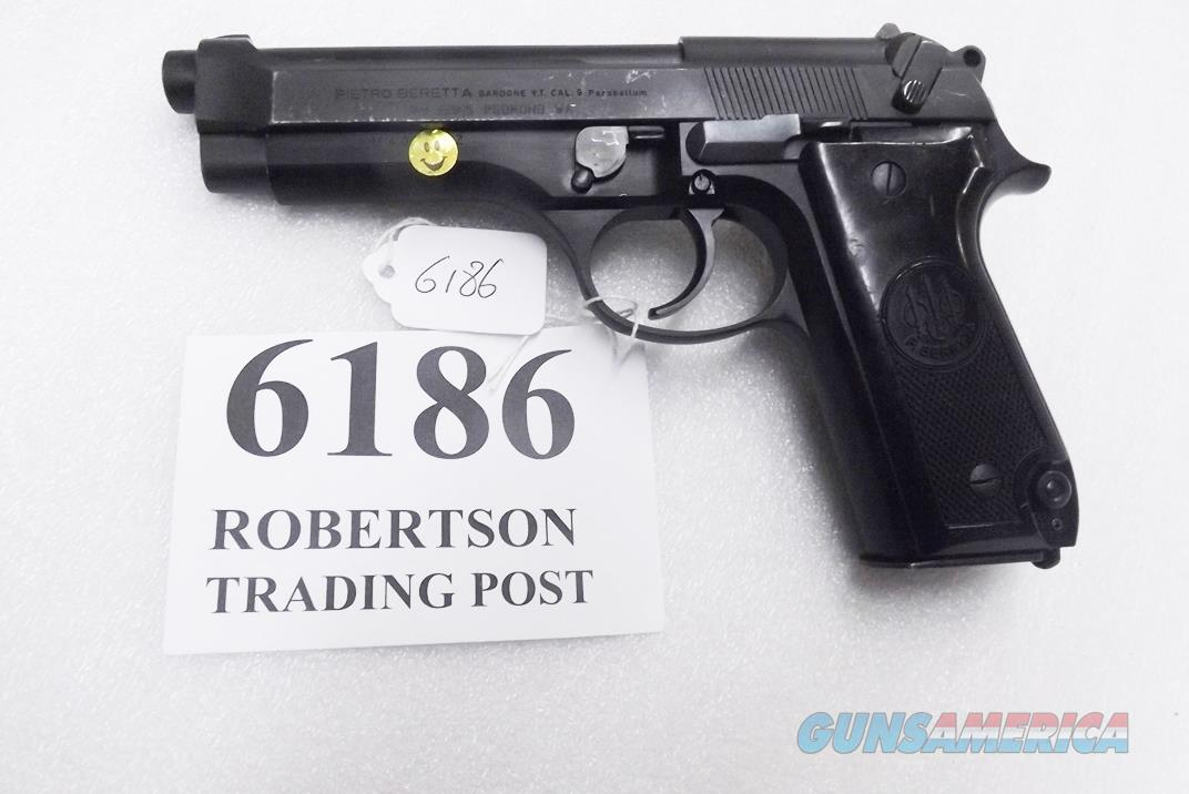 Beretta 9mm model 92S Italian Brunitron & Oxide Refinish Military Police JS92F300M type / ancestor c1978 16 Round 1 Pre-Ban Magazine 92SOR  Guns > Pistols > Beretta Pistols > Model 92 Series