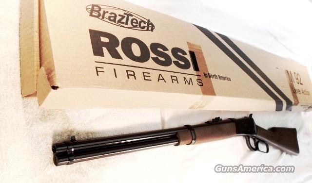 Rossi .44 Magnum Lever Action 1892 Winchester Copy 20 inch Round Barrel Blue 44 Special / Mag NIB  Guns > Rifles > Surplus Rifles & Copies