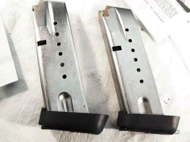 Magazine S&W 6900 type Factory 15 shot 5900 with PGS Conversion to 469 669 6900 type Compacts Smith &Wesson   Non-Guns > Magazines & Clips > Pistol Magazines > Smith & Wesson