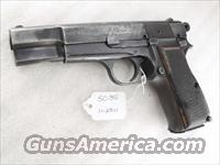 FEG Hungary 9mm Browning Hi-Power Copy FEG Hungarian P9M PJK-9HP Commander Hammer 1980s  Surplus Pistols & Copies