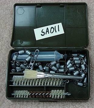 Militaria: Walther P-38 West German Cleaning Kit Exc & Complete  Non-Guns > Military > Web Gear