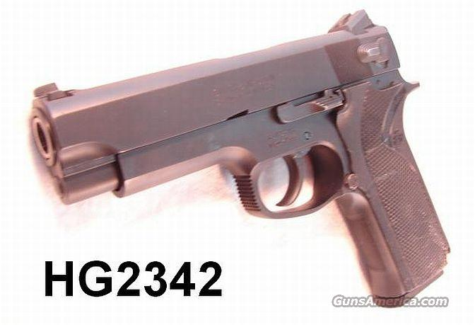 S&W .45 ACP Model 4566 Black Stainless NHSP Marine Div. Exc in Box 1996  Guns > Pistols > Smith & Wesson Pistols - Autos > Steel Frame