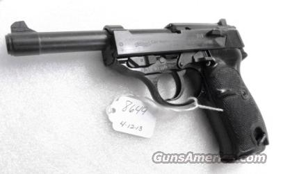 Walther 9mm P38 variant P1 Lightweight Military 1965 P-1 Federal German Police Bundespolizei P-38 Descendant CA OK with 1 Factory 8 Shot Magazine  Guns > Pistols > Walther Pistols > Post WWII > P38