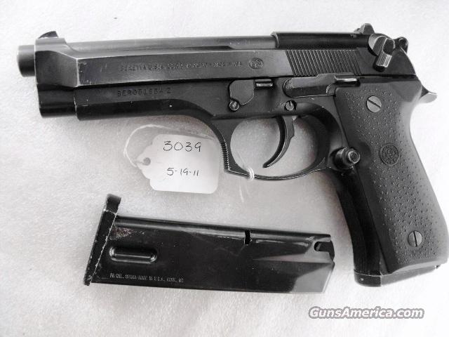 Beretta 9mm Model 92F 1990 Los Angeles County Sheriff's Department Very Good with 2 15 Round Magazines  Guns > Pistols > Beretta Pistols > Model 92 Series
