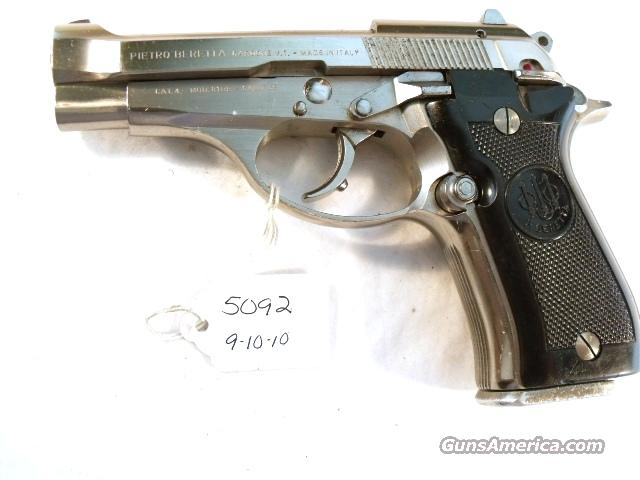 Beretta .32 ACP Cheetah 81 BB Nickel 1984 Israeli Italian VG 1 Mag  Guns > Pistols > Beretta Pistols > Rare & Collectible