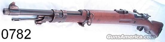 Mauser 8mm Coruna 1950 Spanish G-VG  Guns > Rifles > Mauser Rifles > Spanish