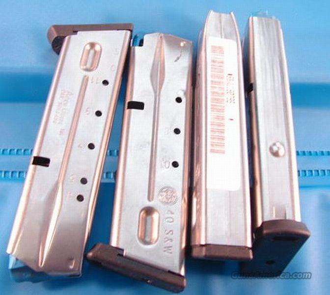 Magazines for S&W 4000 type .40 S&W 11 Shot Exc Near Mint  Non-Guns > Magazines & Clips > Pistol Magazines > Smith & Wesson