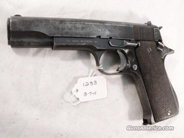 Star Spain 9mm Model B Colt Government Size Steel Frame 1953 Israeli Army Police 1 Magazine C&R OK CA OK  Guns > Pistols > Star Pistols