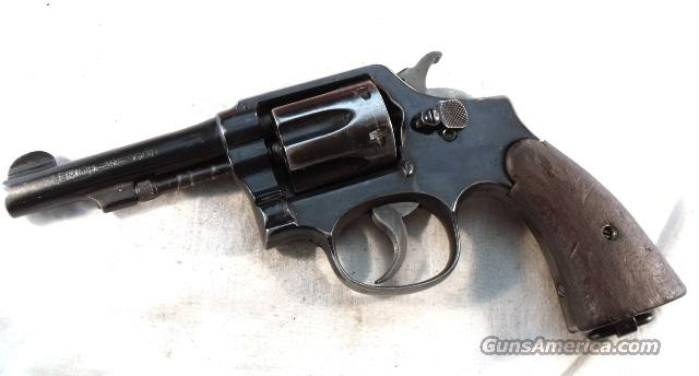 Smith & Wesson .38 S&W Caliber M&P Victory Serial Number Prefix WWII Reblue Good Cond  Guns > Pistols > Smith & Wesson Revolvers > Pre-1945