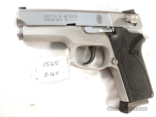 S&W 9mm model 3913 Lightweight Stainless Compact VG 1 Magazine California Department of Corrections 1991 Smith & Wesson   Guns > Pistols > Smith & Wesson Pistols - Autos > Alloy Frame