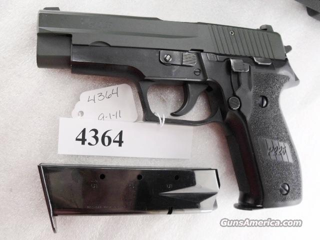 Sig 9mm P-226 Swiss Police Black Ice OD Green Teflon Slide P226 Sig Sauer all German with two new Mec-Gar Magazines CA MA OK 1990 		  Guns > Pistols > Sig - Sauer/Sigarms Pistols > P226