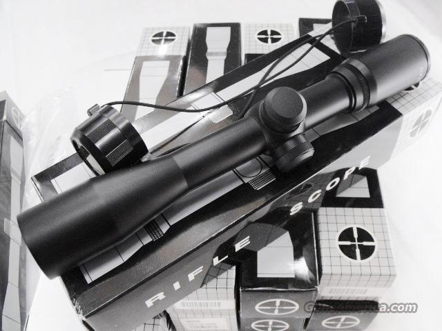 Scope 2.5x 32mm Scout type 7 – 12 inch Intermediate Eye Relief Matte Duplex New FM / DKG Generic China Made Tasco Contractor Buy 3 Ships Free!   Non-Guns > Black Powder Muzzleloading