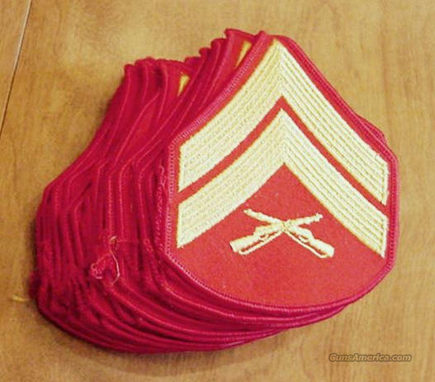 Militaria: US Marine Corps Corporal Patch Mint  Non-Guns > Military > Patches
