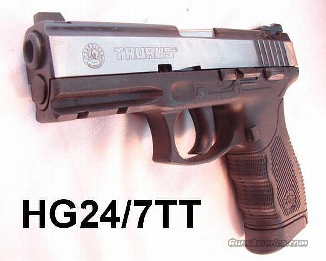Taurus 9mm PT24/7 Pro DS Duo-Tone 18 Shot 2 Mags NIB  Guns > Pistols > Taurus Pistols/Revolvers > Pistols > Polymer Frame