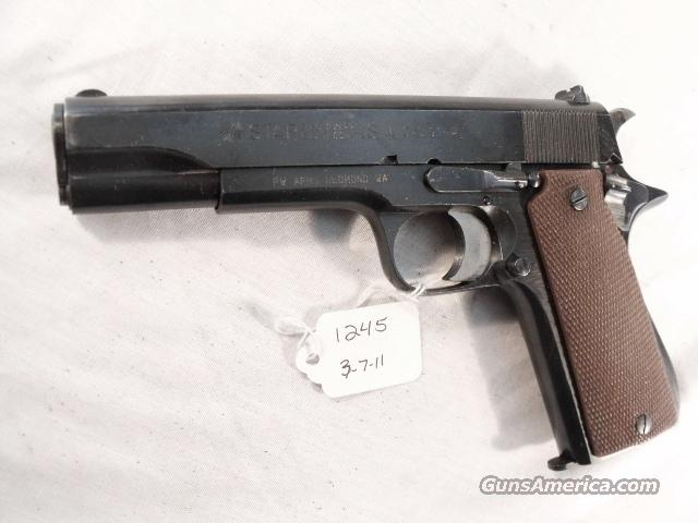 Star 9mm Model B Colt Government Size Steel Frame 1941 Israeli Army Police Excellent 1 Magazine  Guns > Pistols > Surplus Pistols & Copies