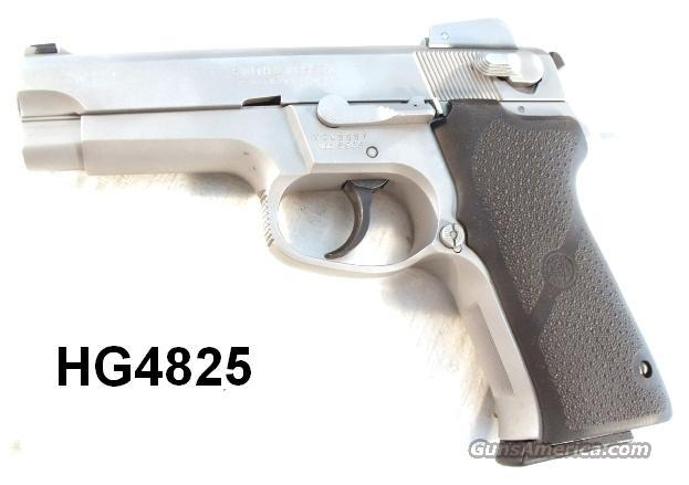 S&W 9mm 5906 Adjustable Stainless 1996 Matte Refinish 2 LE Mags  Guns > Pistols > Smith & Wesson Pistols - Autos > Steel Frame