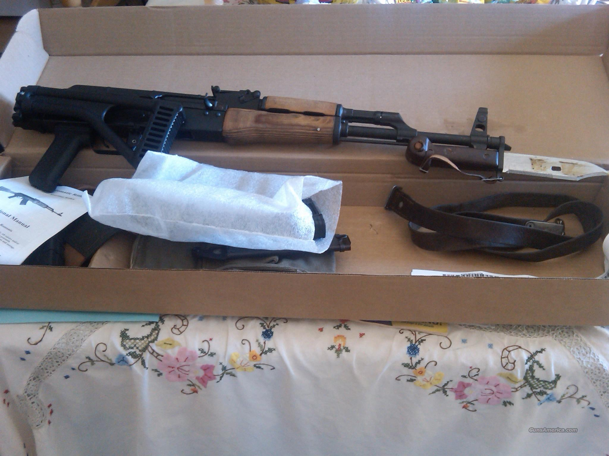 AK 47 in 7.62x39 with Folding stock and extras AK47    Guns > Rifles > AK-47 Rifles (and copies) > Full Stock